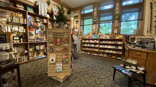 Fully stocked bookstore!