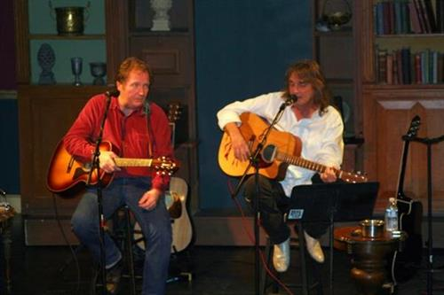 """Jon Koonce & Bruce Smith @ Coaster Theater, Cannon Beach, Or. Headliner Concert for the annual """"Stormy Weather Arts Festival"""""""