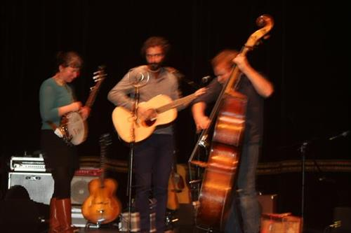 """Israel Nebeker and band """"Blind Pilot"""" Liberty Theater, Astoria, Or."""