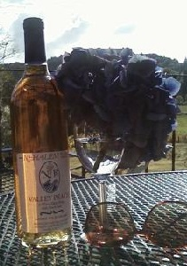 Nothing like a nice chilled glass of our Valley Peach to complete a hot, sunny day!