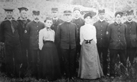 Public Health workers at the turn of the Century.