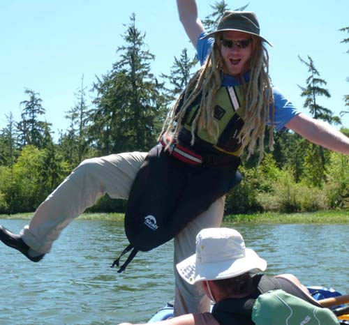 It's all fun on the water with CRK!