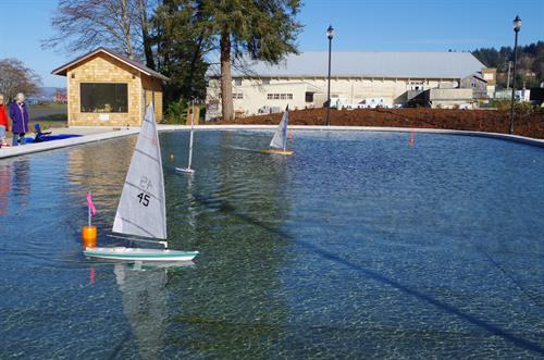 Warnock Model Boat Pond