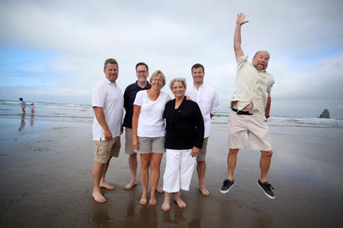 Family Portrait in Cannon Beach