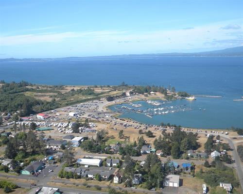 Bird's Eye View of Hammond Marina
