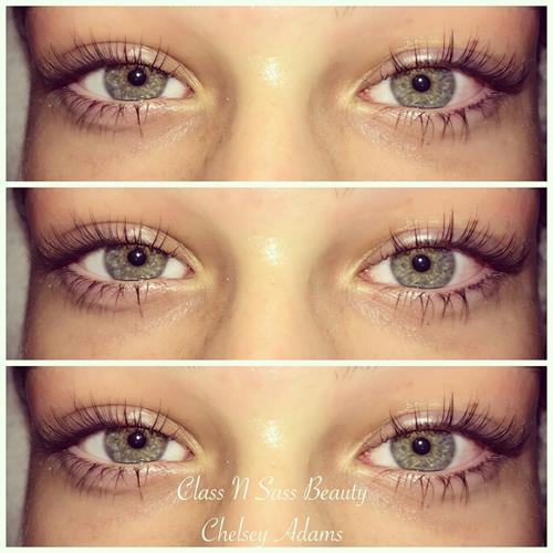 Lash lift and tint by Chelsey