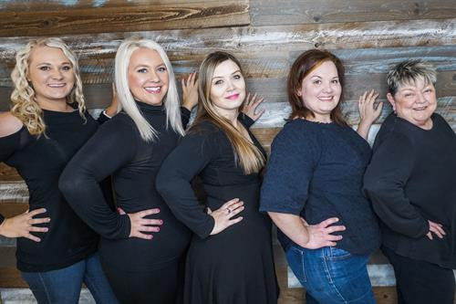 Chelsey (Owner), Ashley, Nicole, Aaron, And Karen