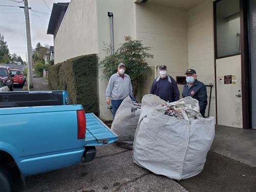 Saturday Morning Newsprint Pick-up and Disposal