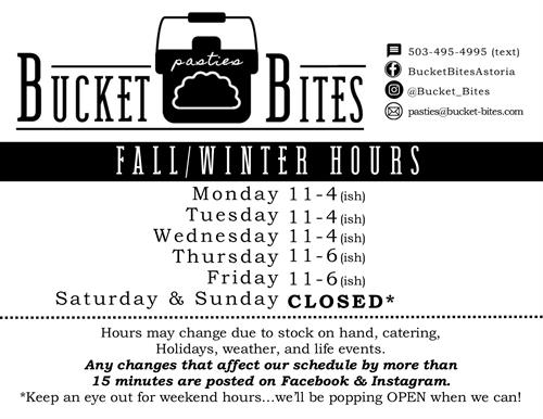 Fall/Winter HOURS 2019