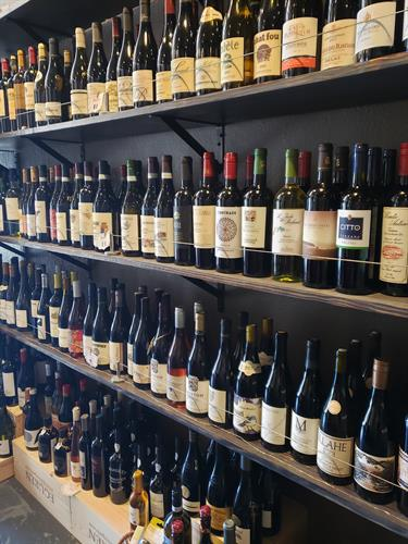 Great wine selection