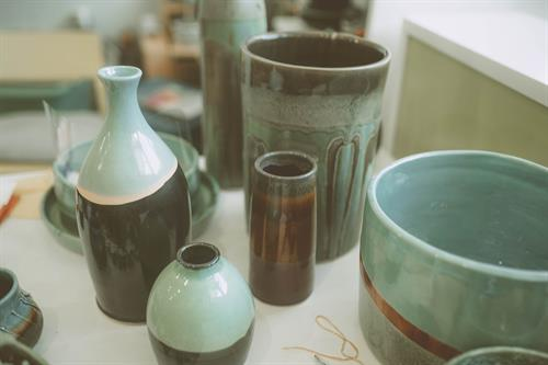 Audrey Long Ceramics Vases