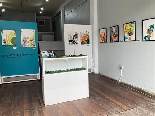 Cambium Gallery Interior view