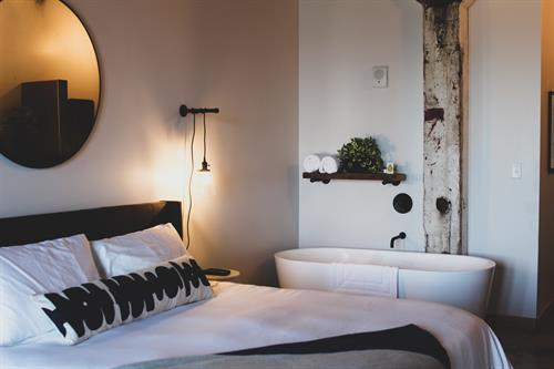Guest Room at Bowline Hotel