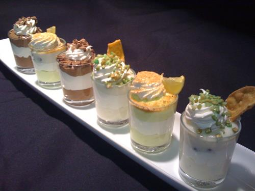 """Our Dessert Mousse """"Shooters"""""""
