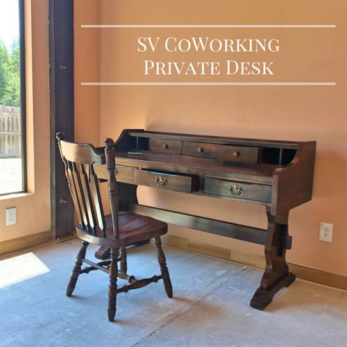 Designated CoWorking Desks
