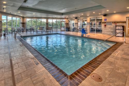 Before or after a busy day in Austin, unwind with a refreshing swim in our hotel's indoor pool.