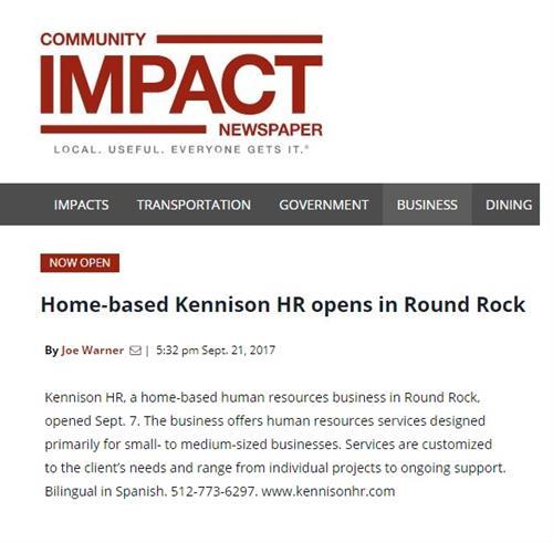 Community Impact News!