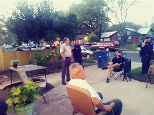 GAVA resident leader meeting.