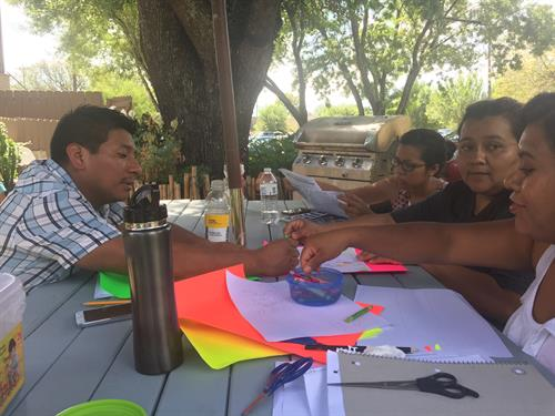 GAVA resident leaders meeting to discuss traffic safety