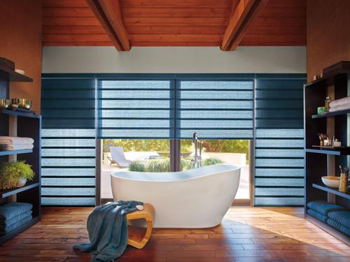 Hunter Douglas Modern Roman Shades
