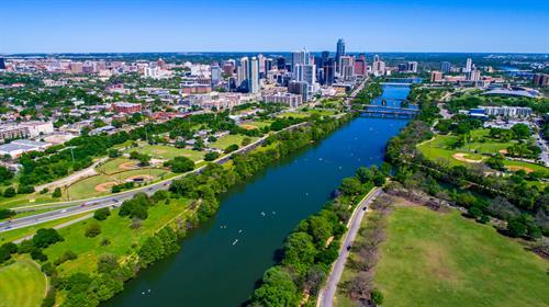 Town Lake Near Downtown Austin