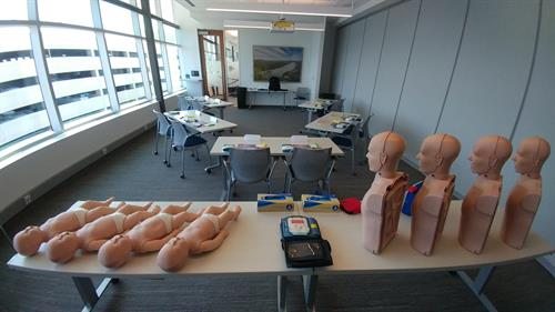 Kestra Financial CPR | AED training