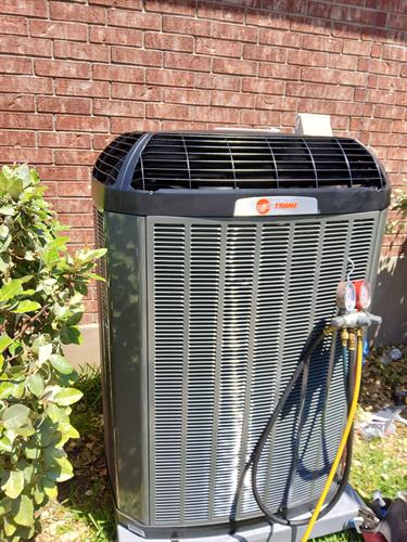We service and repair all brands of equipment, for installations we specialize in Trane & Goodman