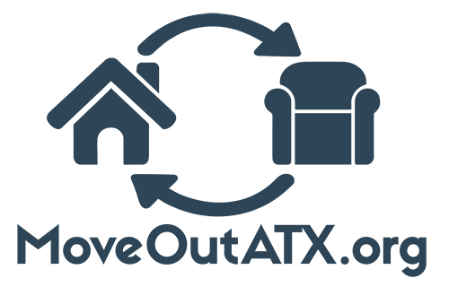 MoveOutATX is an annual event put on by the Circular Economy Program in an effort to assist students living in off-campus housing donate unwanted furniture, clothing, and more during the annual summer move-out season.