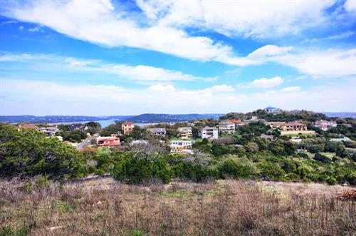 1 ACRE over looking lake Travis. SOLD