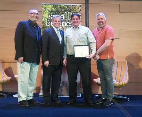 City of Austin Excellence in Service Award - May 2019