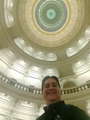 Spending the day at the Capitol with my Hispanic Austin Leadership class