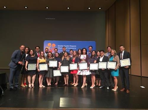 Hispanic Austin Leadership Graduation in 2018