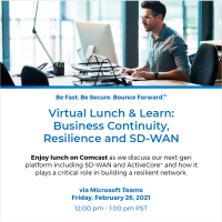 Comcast Business Virtual Lunch & Learn