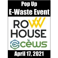 Corporate eWaste Solutions and Row House Pop-Up e-Waste Event