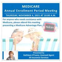 Medicare Annual Enrollment Period Meeting