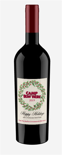 Camp Bow Wow Label