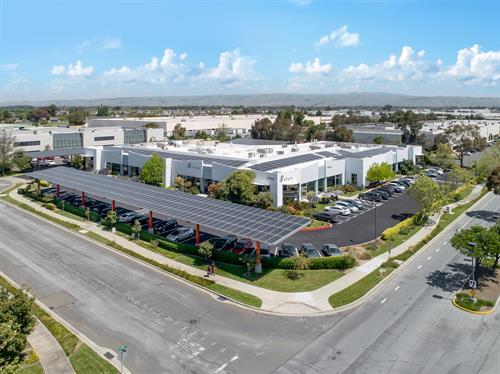 ATUM Biotech- Newark, CA CarPort & Rooftop system