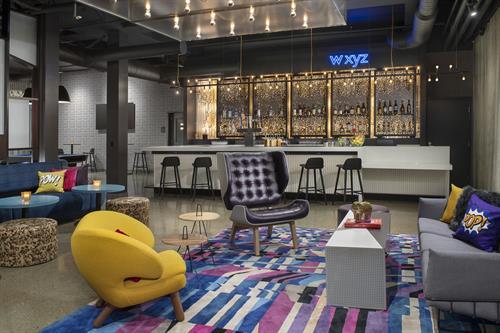 W XYZ Bar at Aloft Dublin-Pleasanton