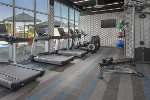 Aloft Dublin-Pleasanton fitness center