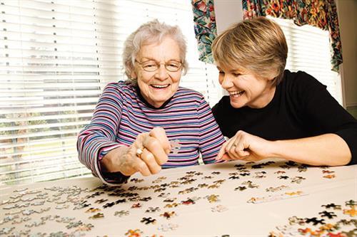 Our members plan engaging social activities for seniors at Pleasanton Rehab and Nursing.