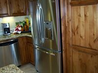 all chrome kitchens, large regrigerators