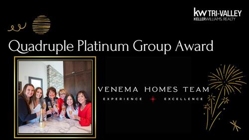 2020 Quardruple Platinum Sales Award