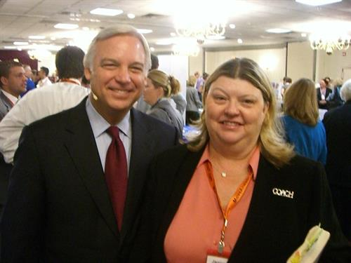 Jack Canfield and Janice Bastani