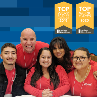 1st United Credit Union Named a Bay Area  Top Workplace for 2020