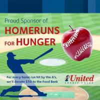 1st United Credit Union is Up to Bat to Fight Hunger