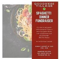 Goodness Village Spaghetti Dinner Fundraiser
