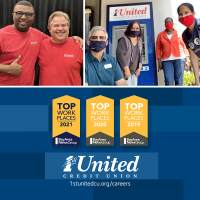 1st United Credit Union Named a 2021 Bay Area Top Workplace