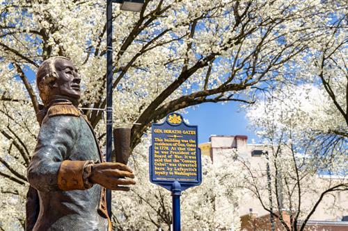 General Lafayette in Spring