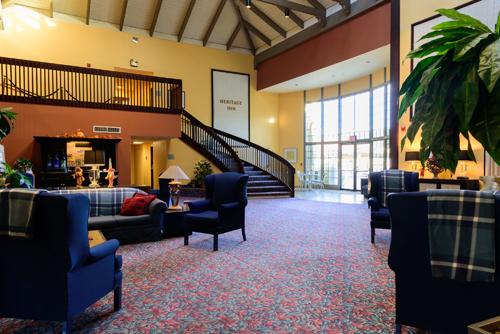 Rodeway Heritage Inn Lobby