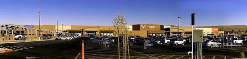 Walmart Commericial Shoot Panorama
